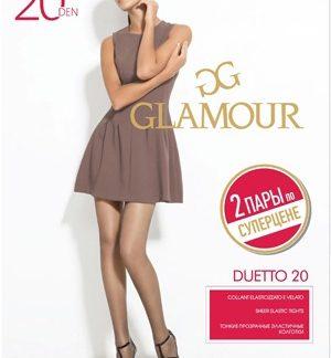 Колготки Glamour Duetto 20