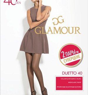 Колготки Glamour Duetto 40