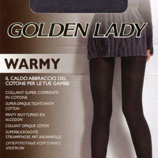 Колготки из хлопка Golden Lady Warmy