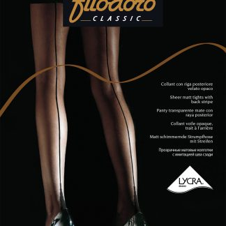 Тонкие колготки с имитацией шва Filodoro Linea Chic