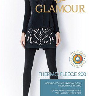 Зимние колготки из микрофлиса Glamour Thermo Fleece 200