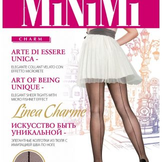 Колготки из микротюля Minimi Linea Charme