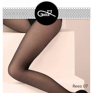 Фантазийные колготки Gatta Rees 07